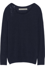Raquel Allegra Shredded cashmere sweater