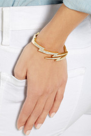 Anita Ko Lightning Bolt 18-karat gold diamond bracelet
