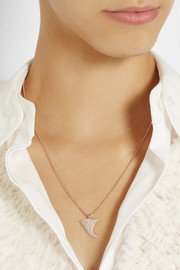 Anita Ko Thorn 18-karat rose gold diamond necklace