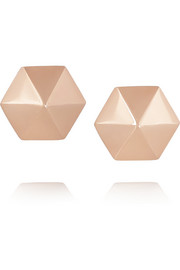 Anita Ko Spike 18-karat rose gold earrings
