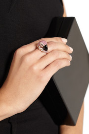 Anita Ko Parrot 18-karat rose gold multi-stone ring