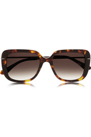 Fred square-frame acetate sunglasses