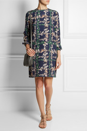 Matthew Williamson Printed silk mini dress