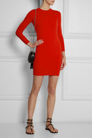 Matthew Williamson Merino wool mini dress