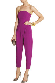 Matthew Williamson Stretch-crepe jumpsuit