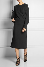 Agnona Wool-crepe midi dress