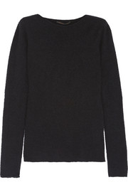 Agnona Cashmere and silk-blend bouclé sweater