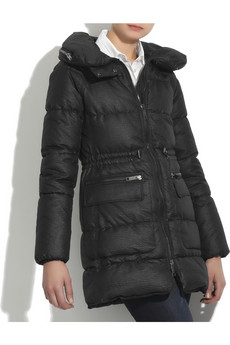 Burberry Quilted puffa coat