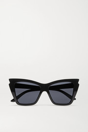 Rapture cat eye acetate sunglasses