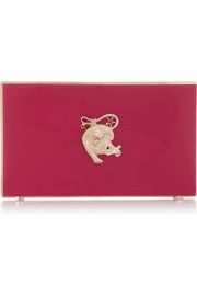Charlotte Olympia Year of the Rat Pandora Perspex clutch