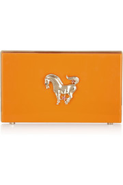 Charlotte Olympia Year of the Horse Pandora Perspex clutch