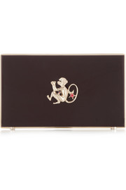 Charlotte Olympia Year of the Monkey Pandora Perspex clutch
