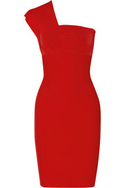Roland Mouret Maniola one-shoulder stretch-jersey dress
