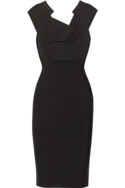 Veila stretch-crepe dress