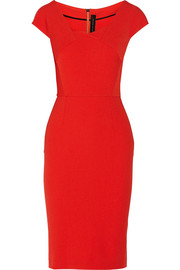 Roland Mouret Hirta stretch-crepe dress
