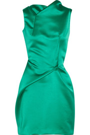 Roland Mouret Zonda satin dress