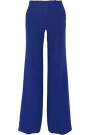 Lucanus wool-crepe wide-leg pants
