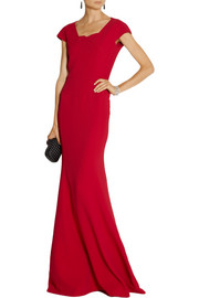 Roland Mouret Sitobion stretch-crepe gown