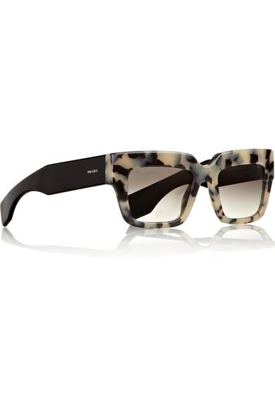 abeede86780 Prada. Square-frame acetate sunglasses