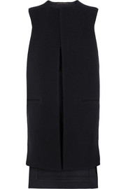 Victoria Beckham Denim Boiled wool and wool-blend gabardine vest