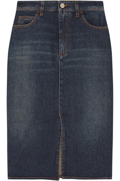 Sale alerts for Stretch-denim pencil skirt Victoria Beckham Denim - Covvet
