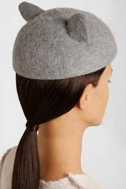 Eugenia Kim Caterina rabbit-felt hat
