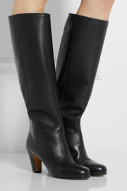 Maison Martin Margiela Leather knee boots