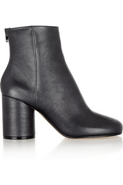Maison Martin Margiela Metallic leather ankle boots