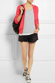 J.Crew Collection cashmere hooded top