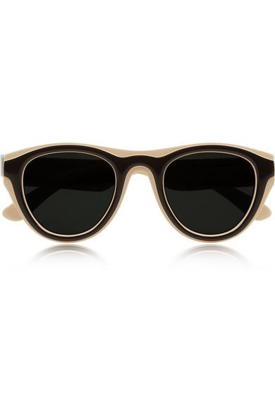 Sale alerts for Maison Martin Margiela + Mykita two-tone sunglasses - Covvet