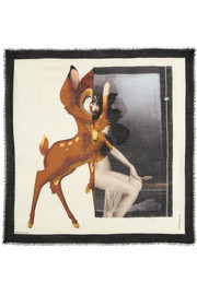Givenchy Square scarf 120cm x 120cm Bambi