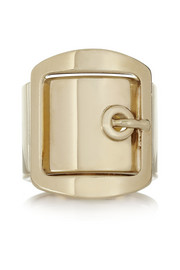 Givenchy Buckle ring in gold-tone brass