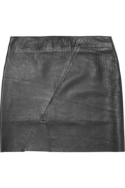 Lot78 Leather mini skirt