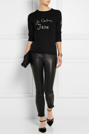 Bella Freud Je T'aime Jane wool sweater