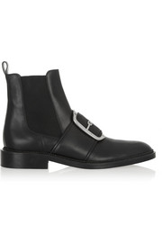 Givenchy Tina buckle-embellished ankle boots in black leather