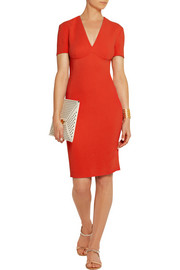 Stella McCartney Annamaria stretch-cady pencil dress