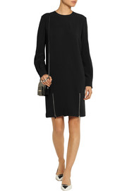 Stella McCartney Alexia zip-detailed stretch-crepe dress