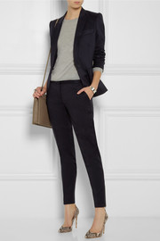 Stella McCartney Vivian wool-gabardine tapered pants
