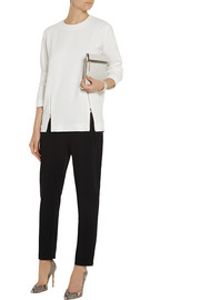 Stella McCartney Gordon zip-trimmed stretch-cady top