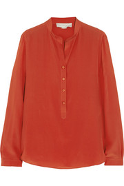 Stella McCartney Eve silk crepe de chine top