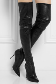 Roland Mouret Reiki leather over-the-knee boots