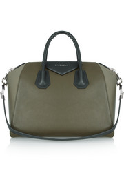 Givenchy Medium Antigona bag in color-block leather