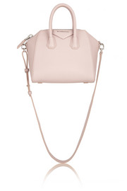 Givenchy Mini Antigona bag in baby-pink textured-leather