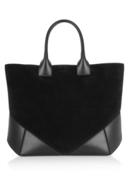 Givenchy Easy tote in black suede and leather