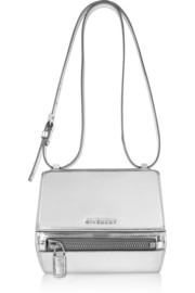 Givenchy Small Pandora Box bag in mirrored leather