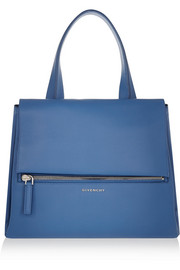 Givenchy Medium Pandora Pure bag in blue textured-leather