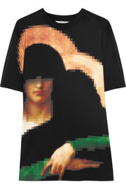 Pixel Madonna printed cotton-jersey T-shirt