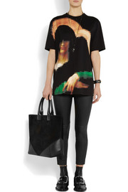 Givenchy Pixel Madonna printed cotton-jersey T-shirt