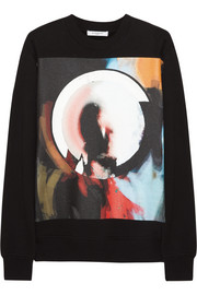Givenchy Madonna Halo printed cotton-jersey sweatshirt