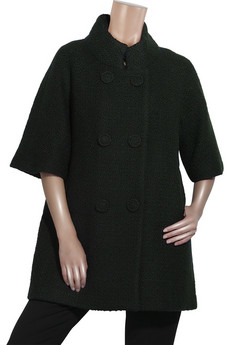 Milly Oversized bouclé wool coat